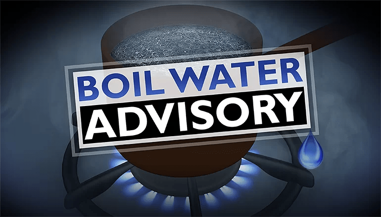 Boil advisory issued for portions of Trenton